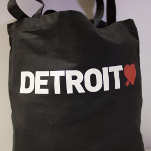 Detroit Love Tote Bag