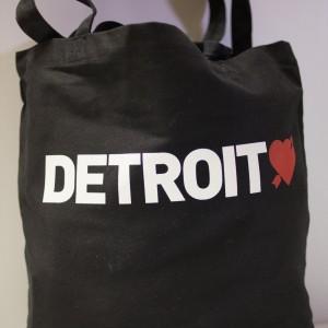 Detroit Love Tote Bag