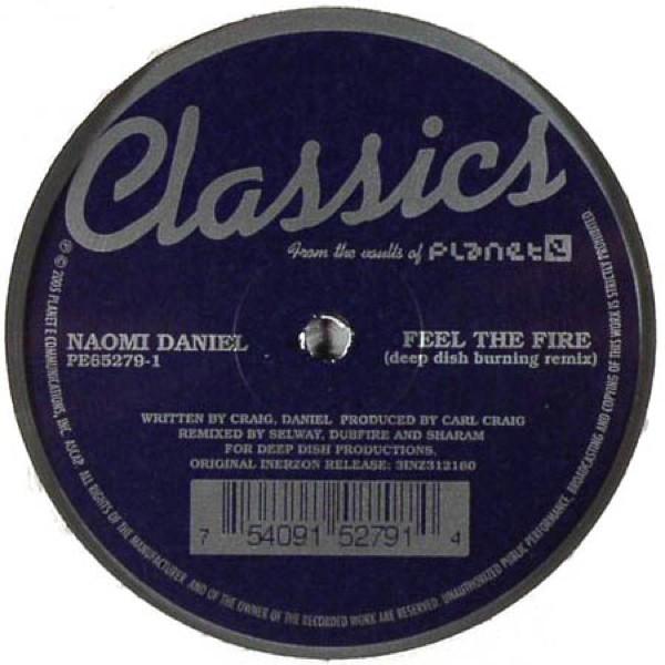 Naomi Daniel - Feel the Fire - Classics Version