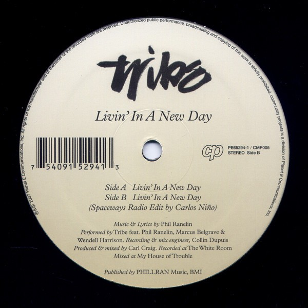 Tribe - Livin In A New Day 12