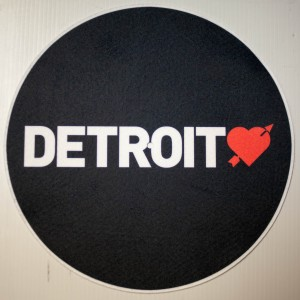 Detroit Love Slipmats (pair)
